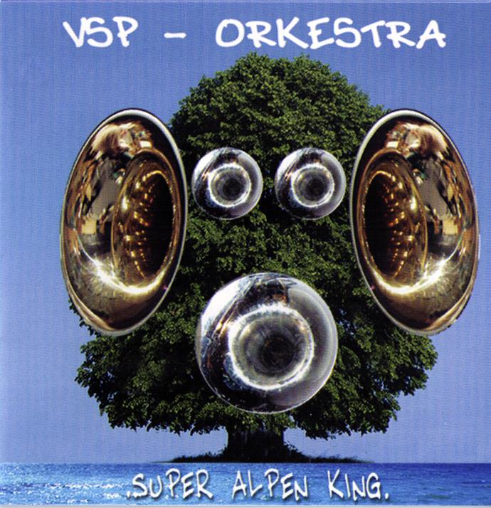 Jaquette du troisième CD de VSP